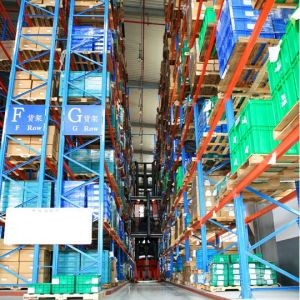 ISO Approved Steel Very Narrow Asile Storage Pallet Racking System pictures & photos