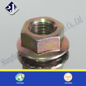 SGS Hex Flange Nut for Automobile Grade 8 pictures & photos