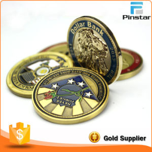 Factory Wholesale High Quality Custom Metal Commemorative Coin pictures & photos