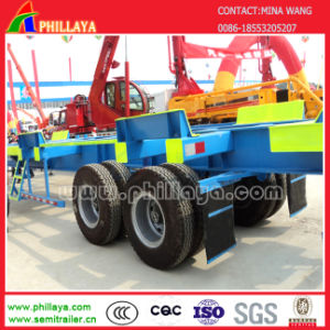 Port 3 Axle Container Delivery Terminal Bomb Cart Semi Trailer pictures & photos