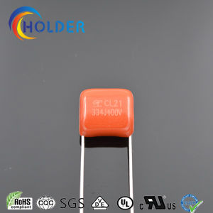 Polyester Capacitor (Cl21 334j/400V P=10) Cl21 Size Could Be Customized OEM pictures & photos