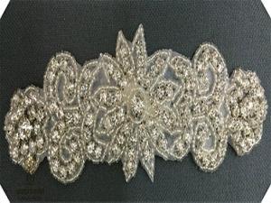 Handmade Bead Wedding Dress Belts, Rhinestone Trim DIY Accessories pictures & photos
