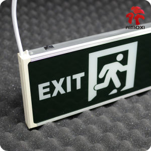 LED Emergency Single and Double Side Exit Light Amx-Em1023A pictures & photos