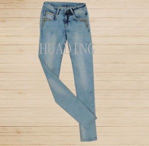 China Wholesale latest Hot Sale Skinny Womens Jeans (HDLJ0048) pictures & photos