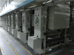 Used Eight Color Flexo Flyer Printing Machine for Sale pictures & photos