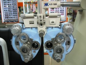 Optometric Manual Phoropter Vt50 Blue Color Good Quality Phoropter