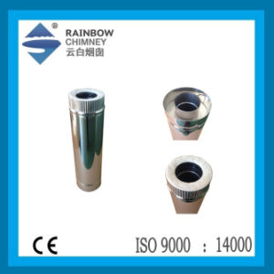 Spigot Lock Straight Pipe for Chimney /Stovepipe pictures & photos