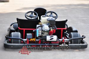 168f, 200cc, 4stoke, 6.5HP with Wet Clutch System Racing Go Karts Double Seats Gc2005 with Hydraulic Brake pictures & photos