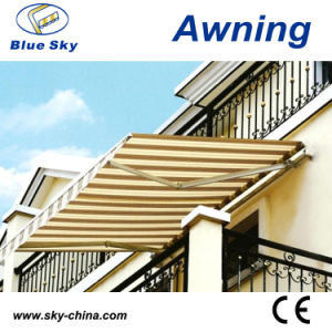 Popular Design Economic Polyester Retractable Awning B1200 pictures & photos