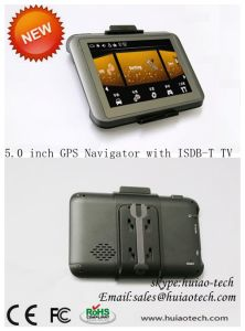 5.0 Inch Truck GPS Navigation with Bluetooth AV-in Function pictures & photos