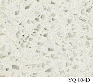 Quartz White/ Artificial Quartz/ White Color (YQ-004D) pictures & photos