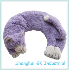 Herb Therapy Refillable Lavender Cat Neck Pillow pictures & photos