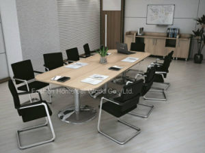 New Fashion Design Radius Corner Rectangular Boardroom Meeting Table (HF-RE022) pictures & photos