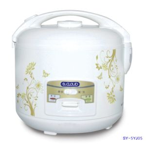 5L Rice Cooker with Non-Stick Coating Inner Pot Sy-5yj05