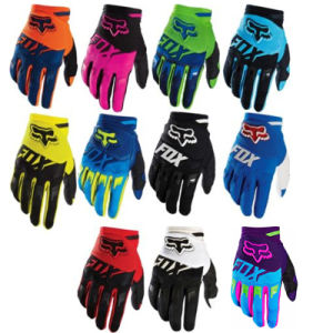Black Wear-Proof Motorcycle off-Road Racing Gloves (MAG61) pictures & photos