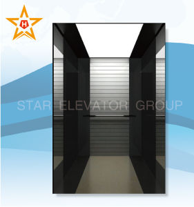 Hotel Elevator with Mirror Etching Stainless Finish Xr-P46 pictures & photos