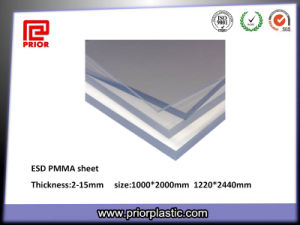 China Supplies 100% Virgin Antistatic ESD Plexiglass Sheet pictures & photos