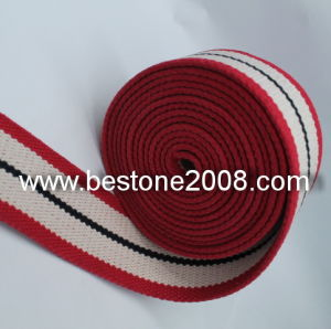 High Quality Cotton Ribbon with Stone Washing 1603-52b pictures & photos