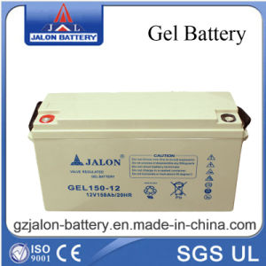 Rechargeable Deep Cycle Gel Battery for Solar System 12V150ah