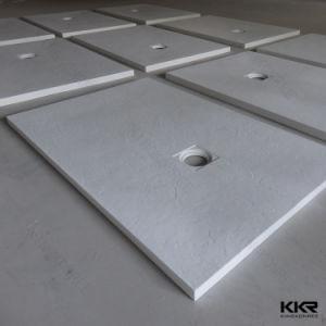 Kingkonree White Solid Surface Acrylic Resin Stone Shower Base