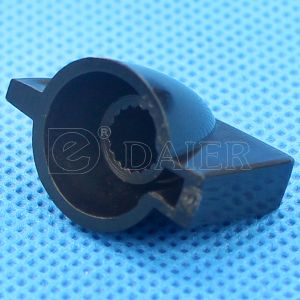 Mini Chicken Head Plastic 6mm Black Knob for Guitar Parts pictures & photos