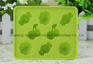 Promotion Cherry Shape Silicone Ice Cube Tray Mold Si19 pictures & photos