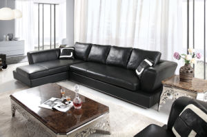 Modern Commercial Sectional Living Room Leather Sofa (HC3010) pictures & photos