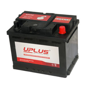 55530 Power Supply Car Battery 12V 55ah Rechargeable Battery pictures & photos