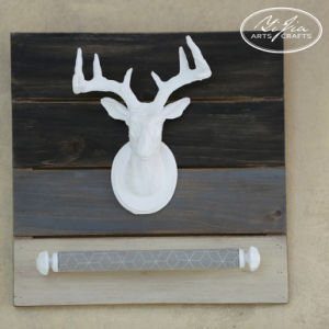 Elk Head Wall Hanging Jewelry Display for Store Decoration by Handmade Crafts