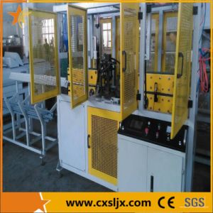 Three Sides Punching PVC Wire Duct Punching Machine pictures & photos