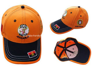 Top Quality Orange Bear Embroidered Funny Hat pictures & photos