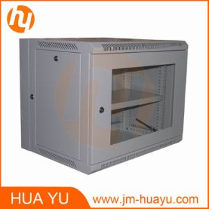 Turning Wall Mount Cabinet Network Rack Sever Rack with Glass Door pictures & photos