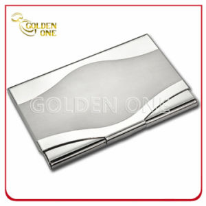 Factory Wholesale Square Stainless Steel Crdeit Card Case pictures & photos