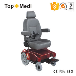 Topmedi Vihicle Seat Electriic Power Wheelchair Tew128 pictures & photos