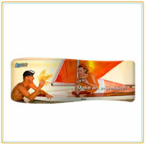 20ft Wide Wave-Line S-Shape Fabric Graphic Expo pictures & photos