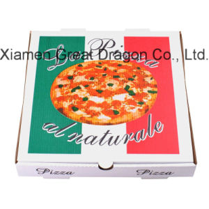 Locking Corners Pizza Box for Stability and Durability (PB160613) pictures & photos