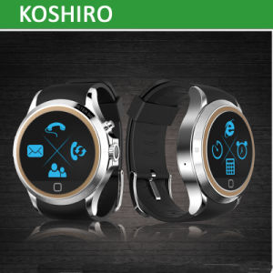 Round Screen SIM Watch Mobile Phone with Bluetooth Watch pictures & photos