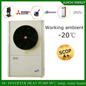 Split Condensor Indoor Type High Cop -25c Amb. Winter House Heating Evi Tech. 12kw/19kw/35kw Auto-Defrost How a Heat Pump Works pictures & photos