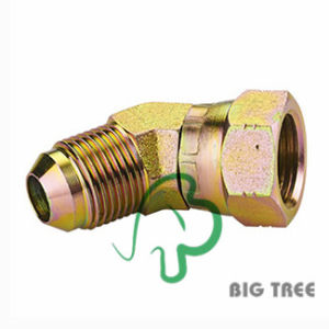 45 Degree Elbow Jic 74 Degree Cone Hydraulic Adapter Fitting pictures & photos