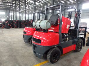 LPG Duel Fuel Forklift with Sideshifter pictures & photos