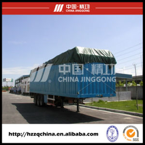 High Safety Shipping Container Trailer HZZ9390XXY pictures & photos