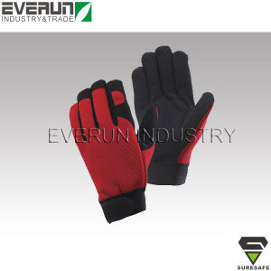 Anti Vibration Gloves Mechanic Gloves for Safety Work pictures & photos