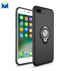 Magnetic Back Case Cover with 360 Degree Ring Holder for iPhone 8 7 Plus 6 X pictures & photos