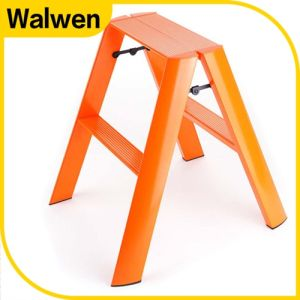 China Factory Plastic Sprayed Folding Agility Household Step Ladder pictures & photos