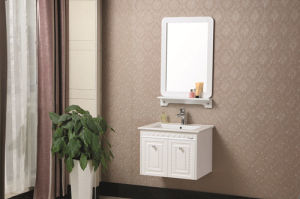 Wall-Mounted Multi-Layer Solid Wood Bathroom Cabinet