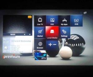 The Latest Ipremium IPTV Box Combined with TV Tuners (DVB-S/T/C/ISDBT) pictures & photos