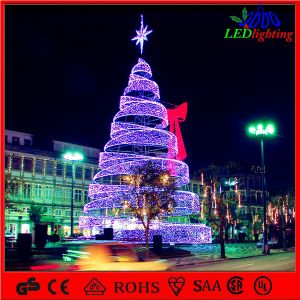 China 3m Stage Show Decoration Outdoor Wire Lighted Christmas Tree ...