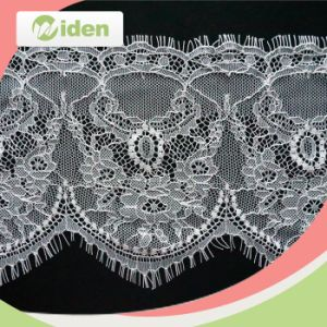High Quality Knitted Net Eyelash Lace pictures & photos