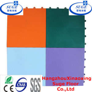 PP Resilient Surface Futsal Flooring Waterproof Football Court Flooring pictures & photos