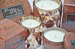 Natural Soy 340g Round Tin Gift Candle in Box pictures & photos